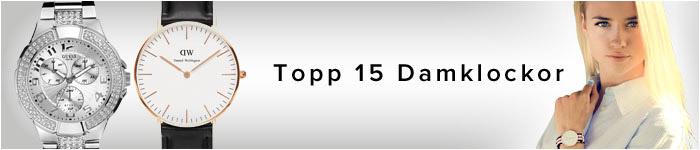 Topp 15 Damklockor