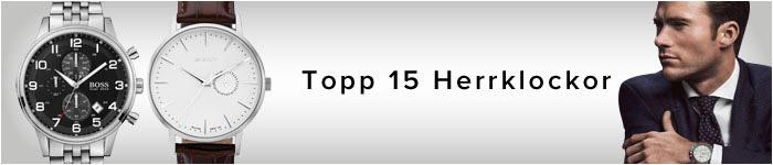 Topp 15 Herrklockor
